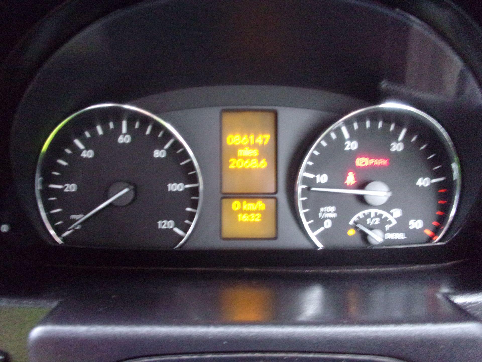 2017 Mercedes-Benz Sprinter 314 CDI LWB SINGLE CAB DROPSIDE EURO 6 (KU17HKY) Image 6