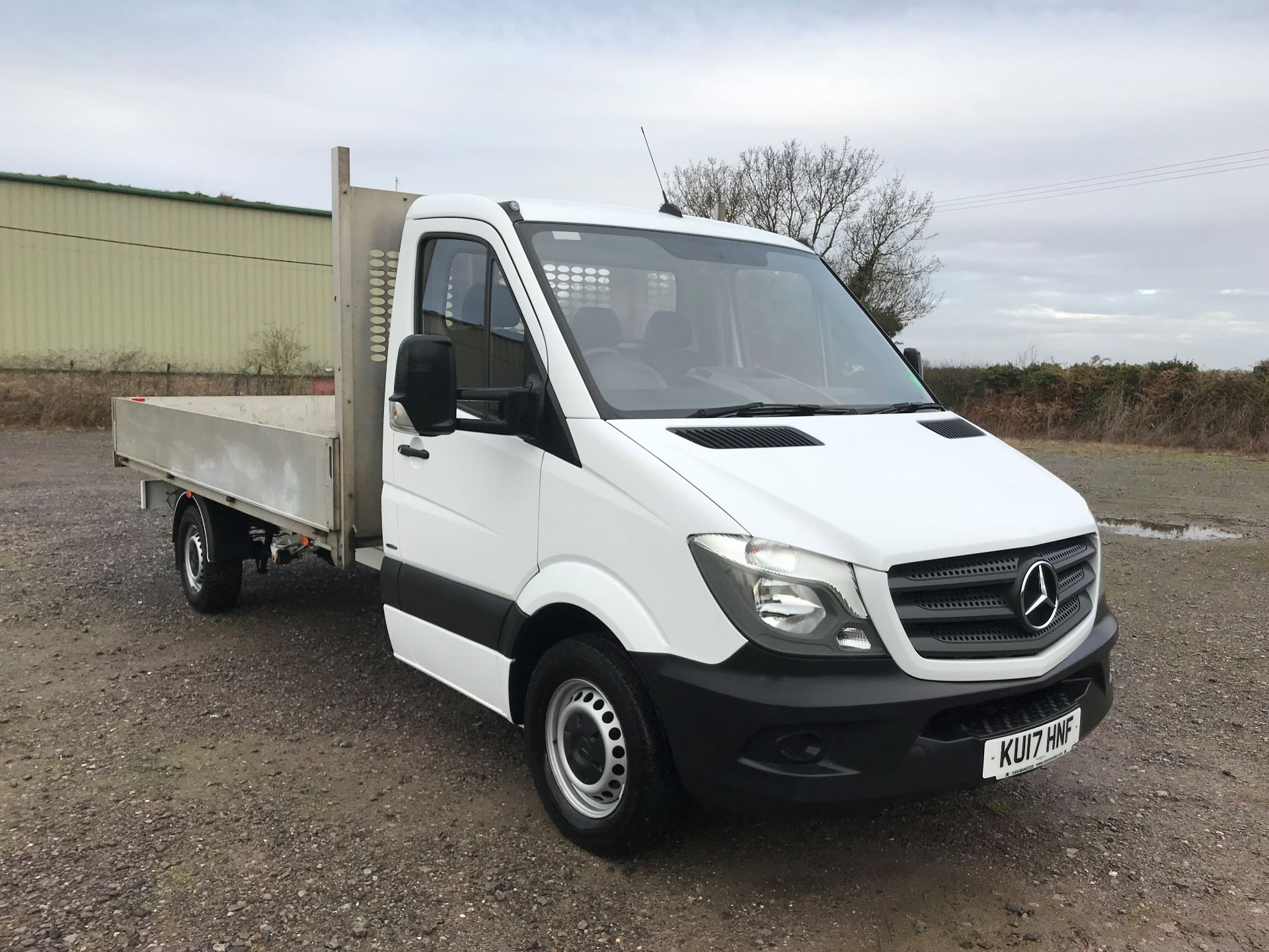 2017 Mercedes-Benz Sprinter 314 LWB DROP SIDE EURO 6 (KU17HNF)