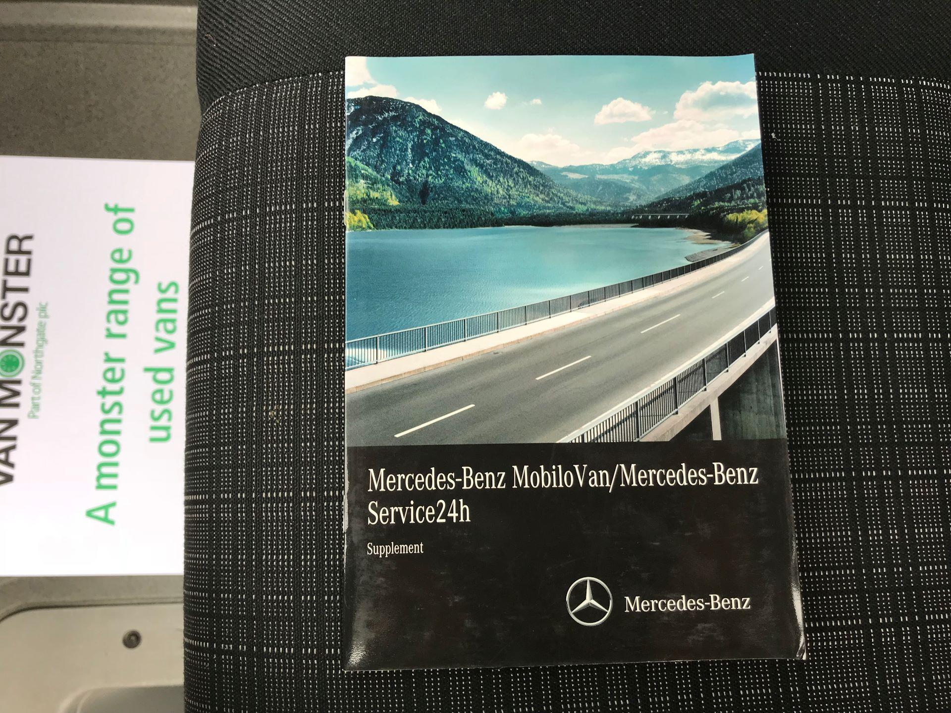 2017 Mercedes-Benz Sprinter 314 LWB DROP SIDE EURO 6 (KU17HNF) Image 40