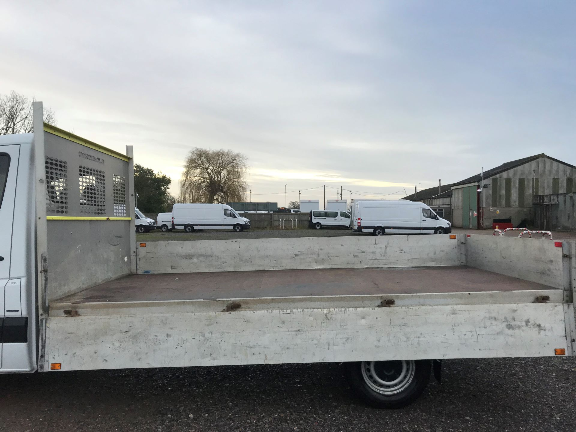 2017 Mercedes-Benz Sprinter 314 LWB DROP SIDE EURO 6 (KU17HNF) Image 32