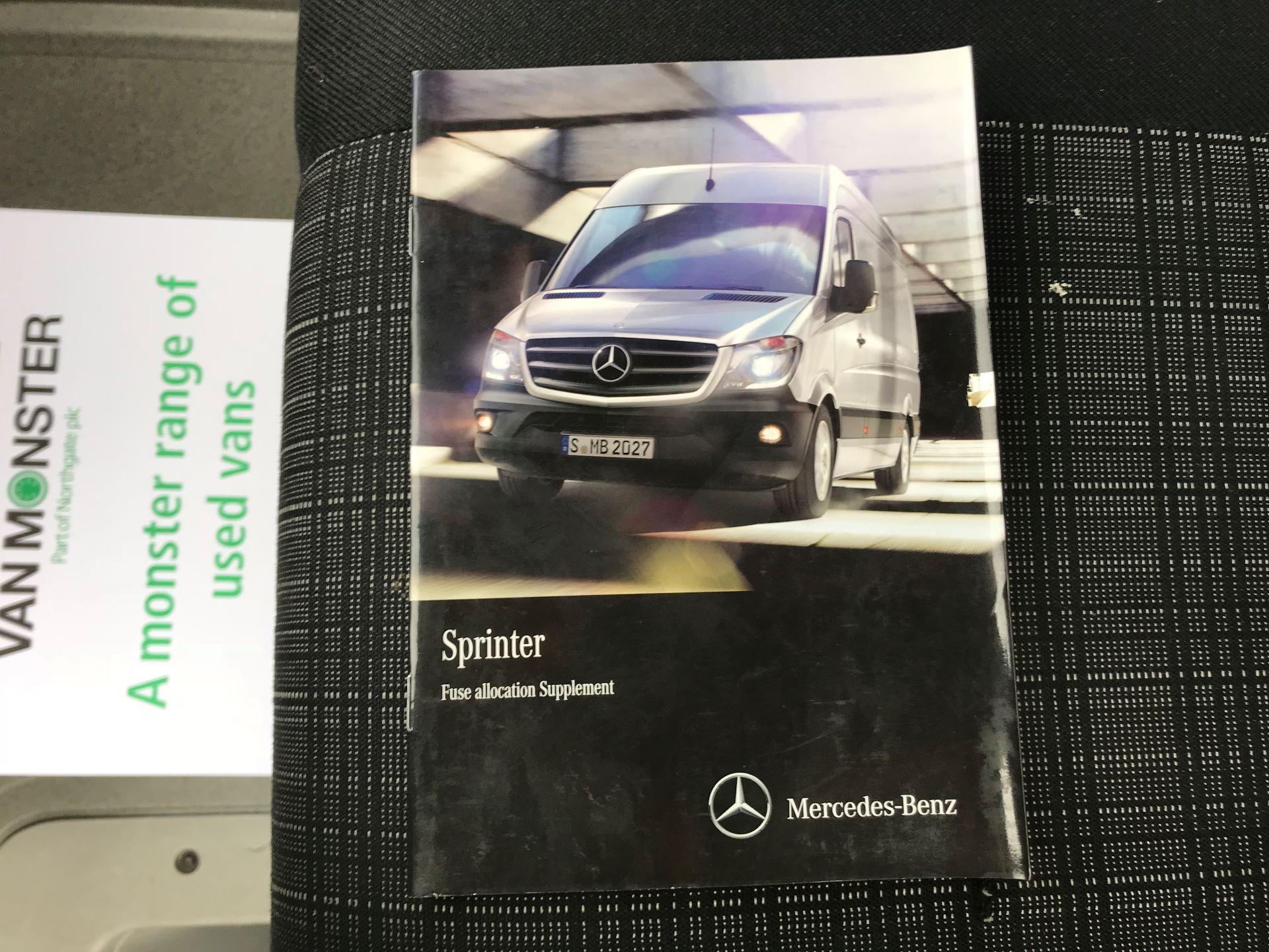 2017 Mercedes-Benz Sprinter 314 LWB DROP SIDE EURO 6 (KU17HNF) Image 39