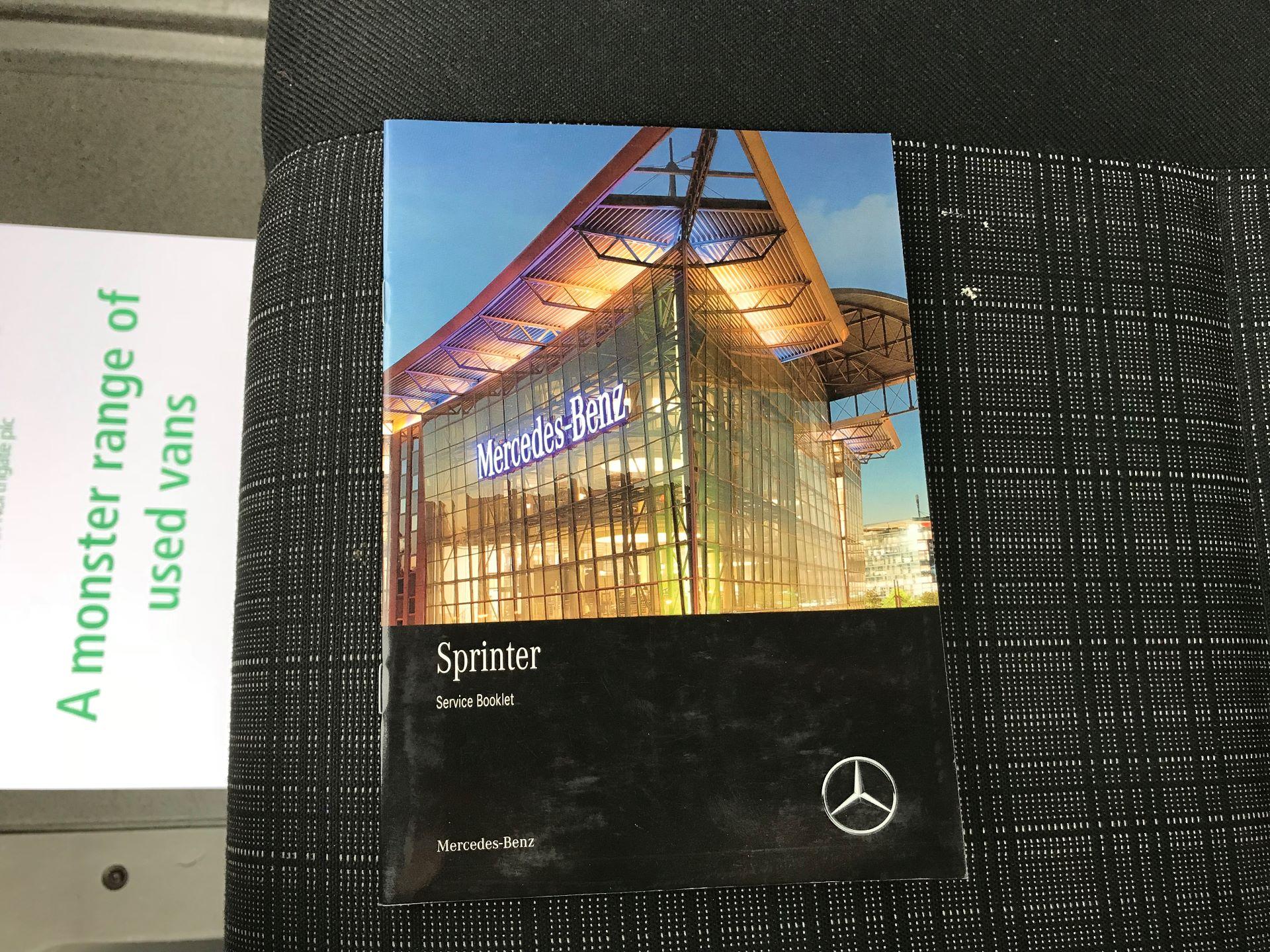 2017 Mercedes-Benz Sprinter 314 LWB DROP SIDE EURO 6 (KU17HNF) Image 37
