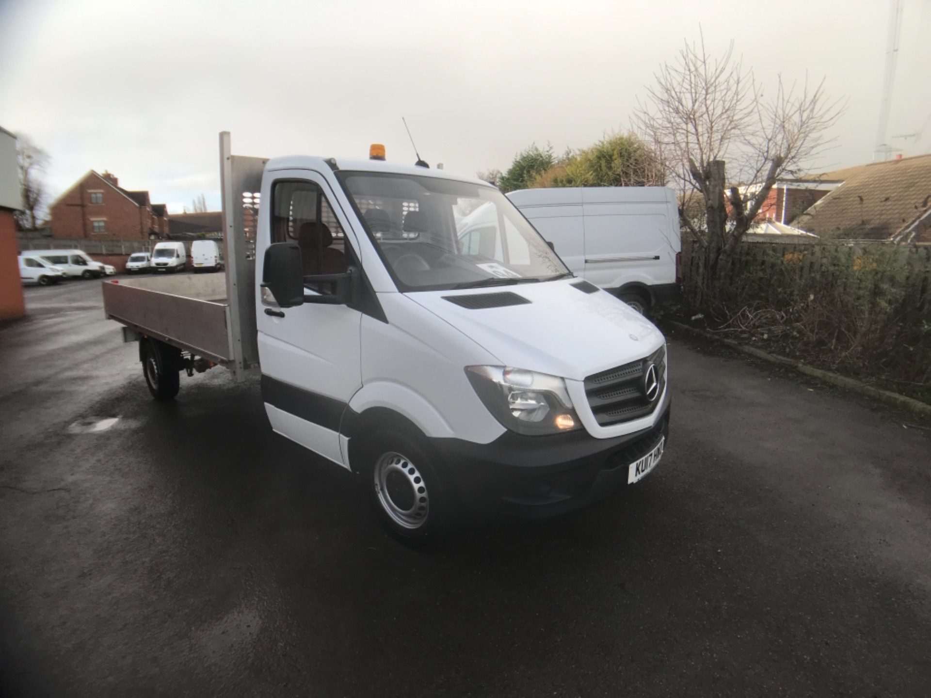2017 Mercedes-Benz Sprinter 314 LWB DROP SIDE EURO 6 (KU17HWO)