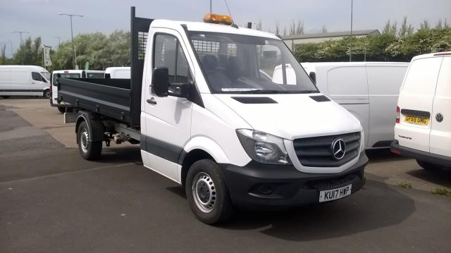 2017 Mercedes-Benz Sprinter  MERCEDES BENZ SPRINTER 314 S/CAB TIPPER EURO 6 (KU17HWP)