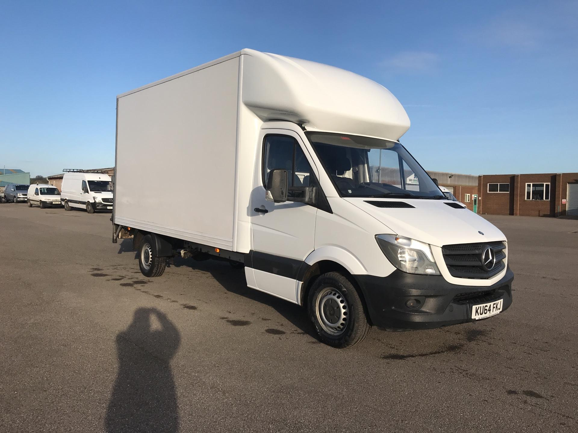 2014 Mercedes-Benz Sprinter 313 LWB LONG LUTON EURO 5 TAIL LIFT (KU64FKJ)