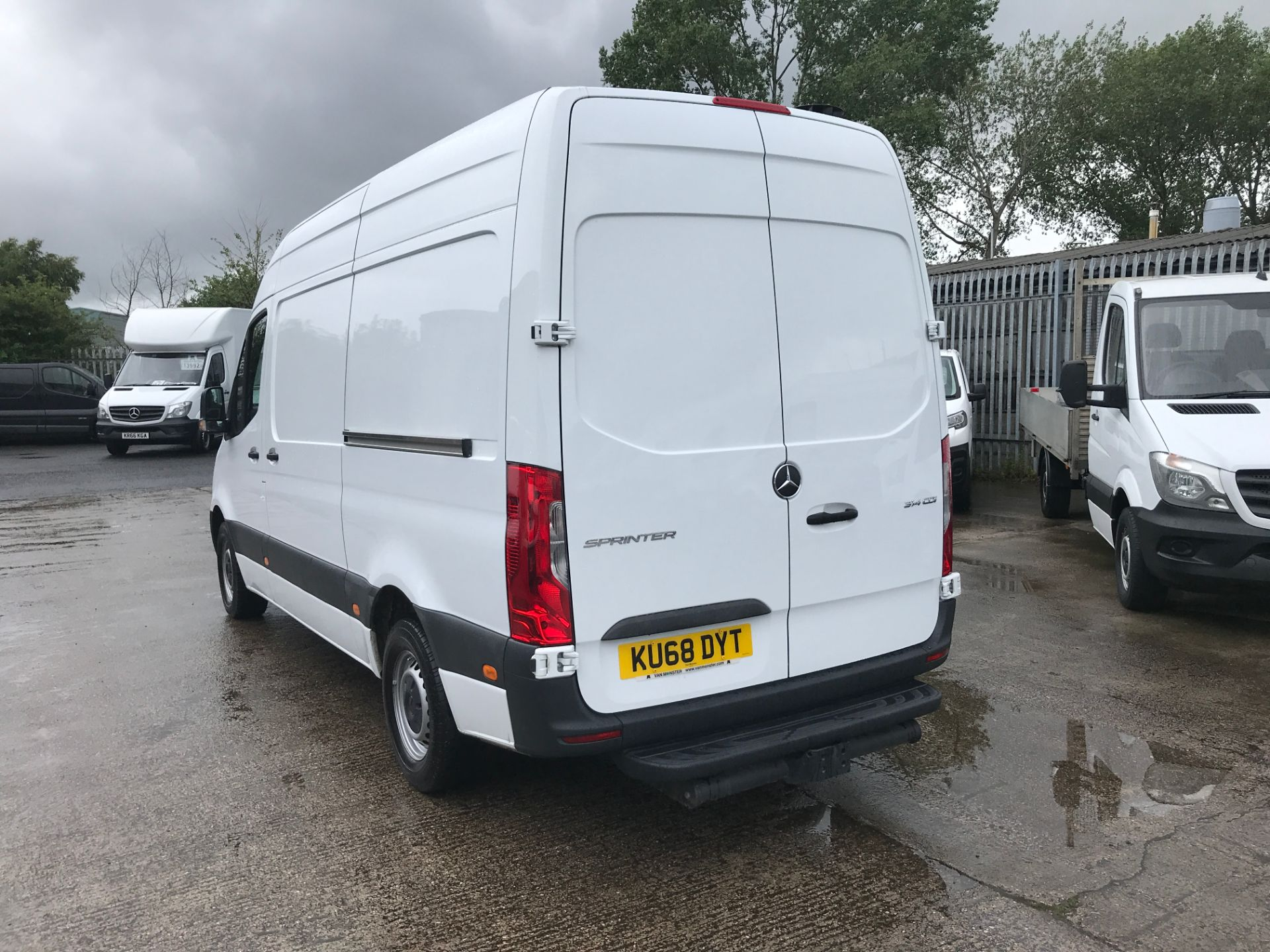 2018 Mercedes-Benz Sprinter 314CDI L2 H2 140PS EURO 6 (KU68DYT) Thumbnail 7