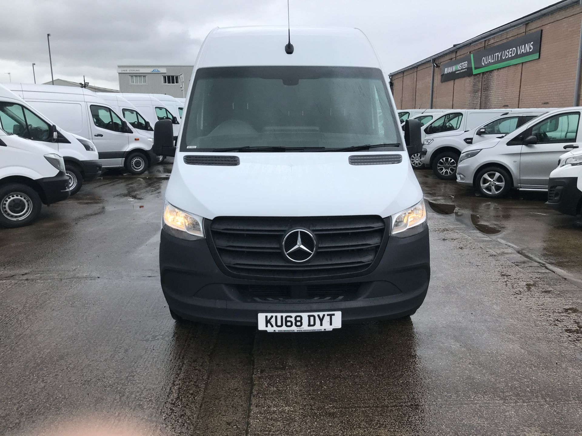 2018 Mercedes-Benz Sprinter 314CDI L2 H2 140PS EURO 6 (KU68DYT) Thumbnail 2