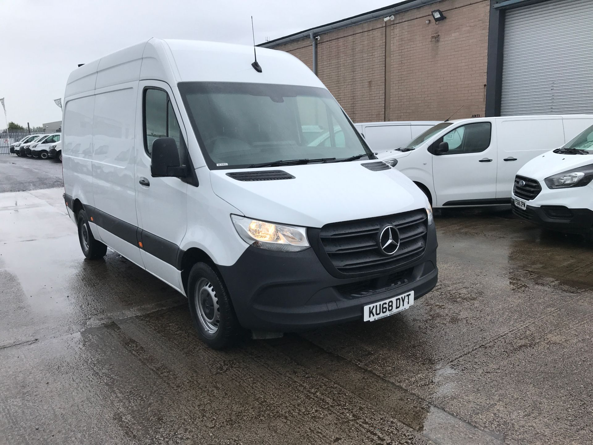 2018 Mercedes-Benz Sprinter 314CDI L2 H2 140PS EURO 6 (KU68DYT) Thumbnail 1