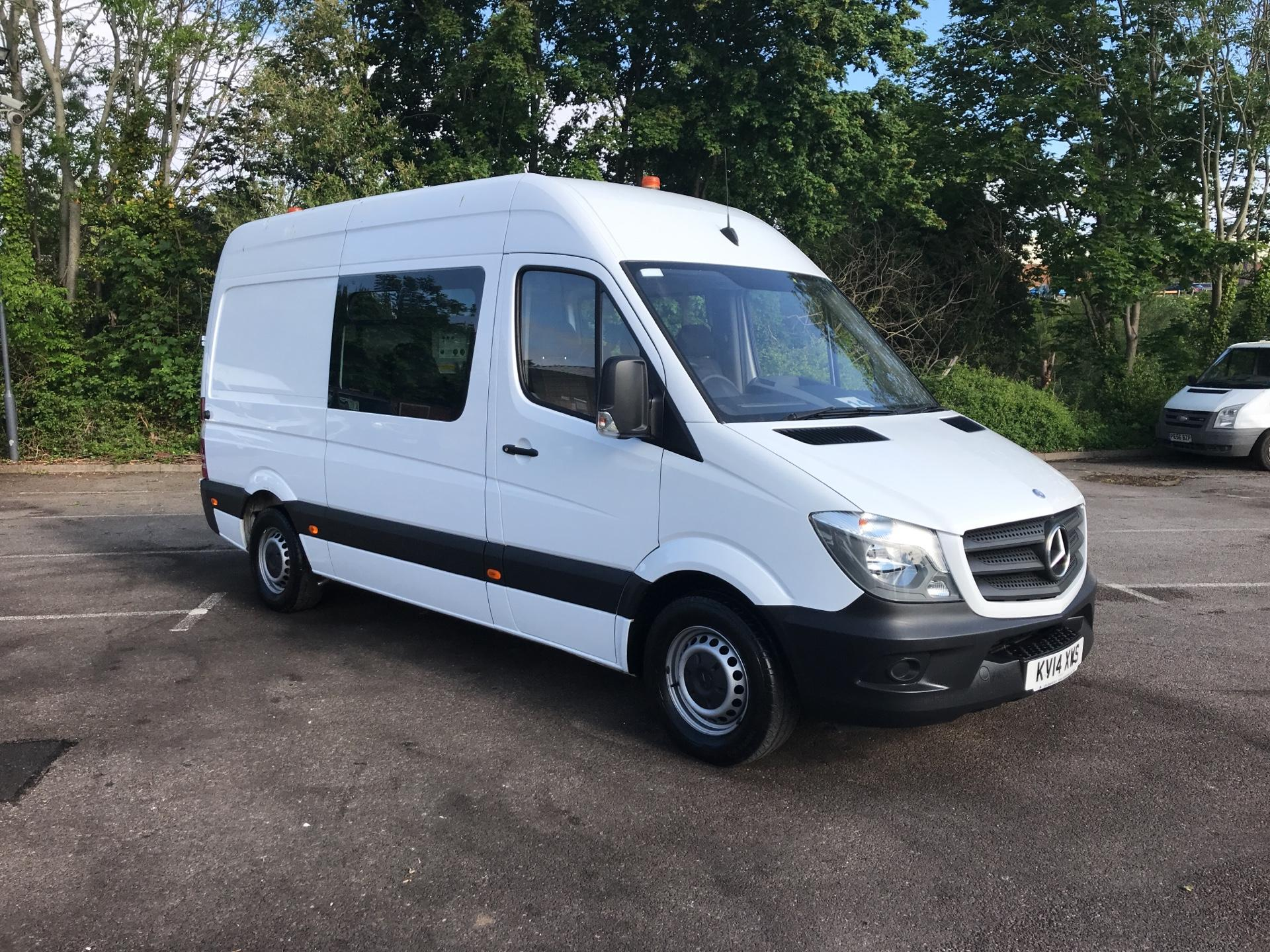 2014 Mercedes-Benz Sprinter 313 CDI MWB HIGH ROOF CREW VAN EURO 5  (KV14XWS)