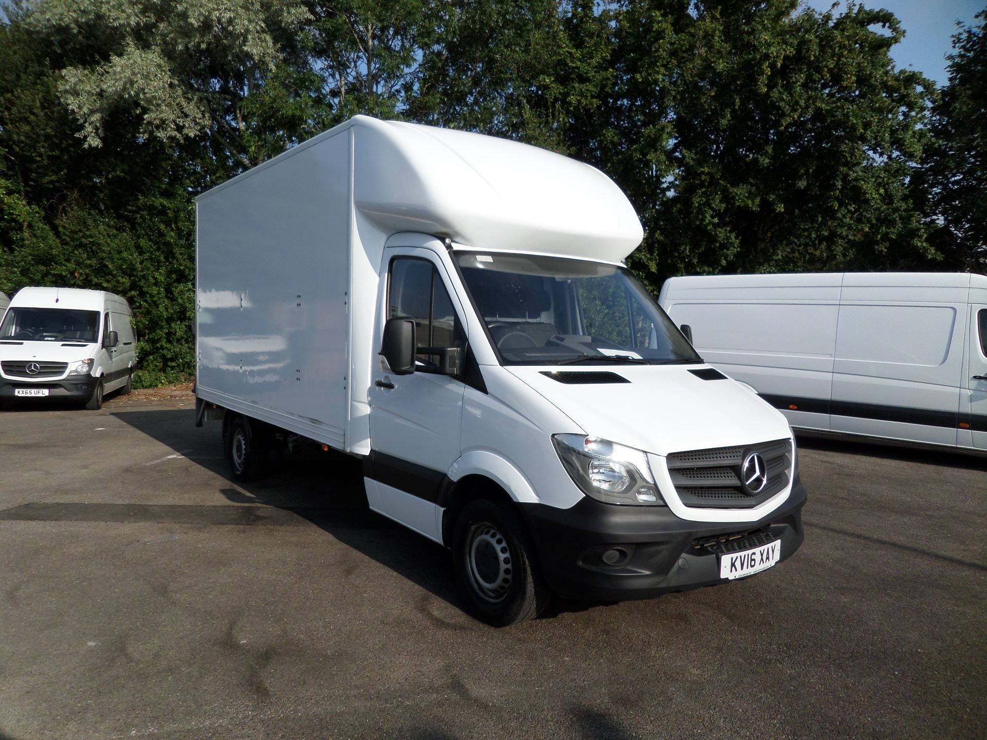 2016 Mercedes-Benz Sprinter 313 LWB LONG LUTON EURO 5 (KV16XAY)