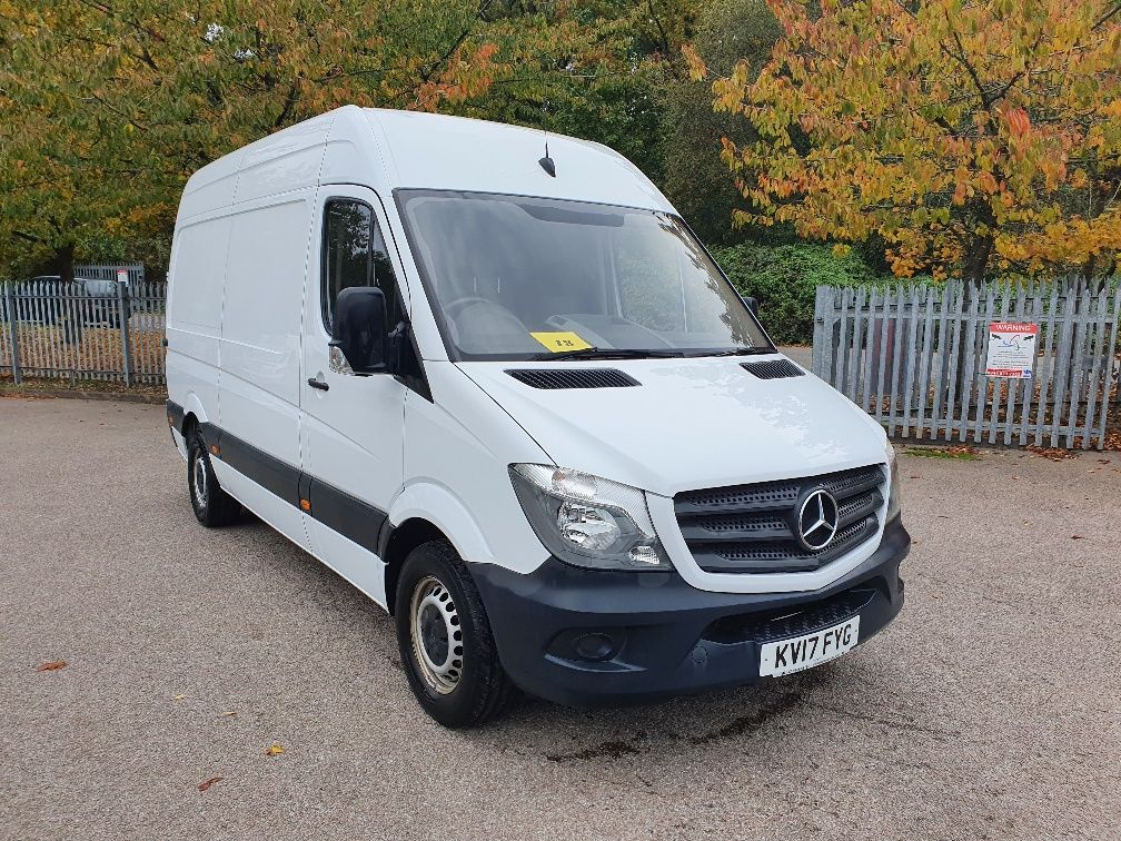 2017 Mercedes-Benz Sprinter MWB 314 2.2 138PS 3.5T High Roof Van (KV17FYG)