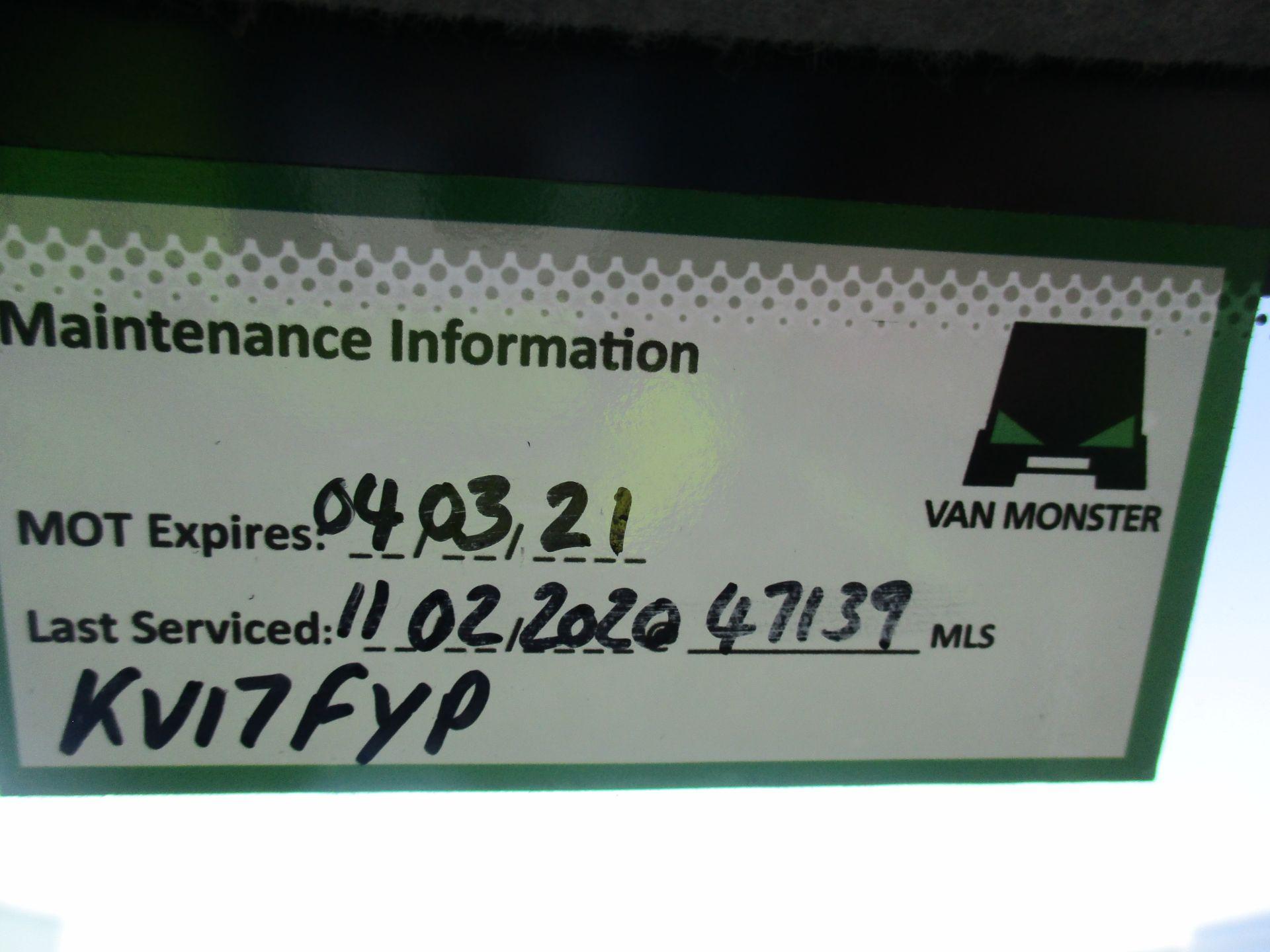 2017 Mercedes-Benz Sprinter 314 MWB H/R VAN EURO 6 (KV17FYP) Image 23
