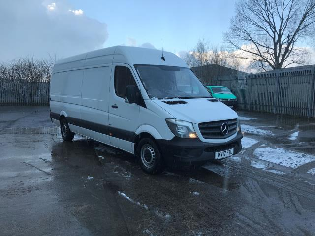 2017 Mercedes-Benz Sprinter  314CDI LWB HIGH ROOF 140PS EURO 6 (KV17FZL)