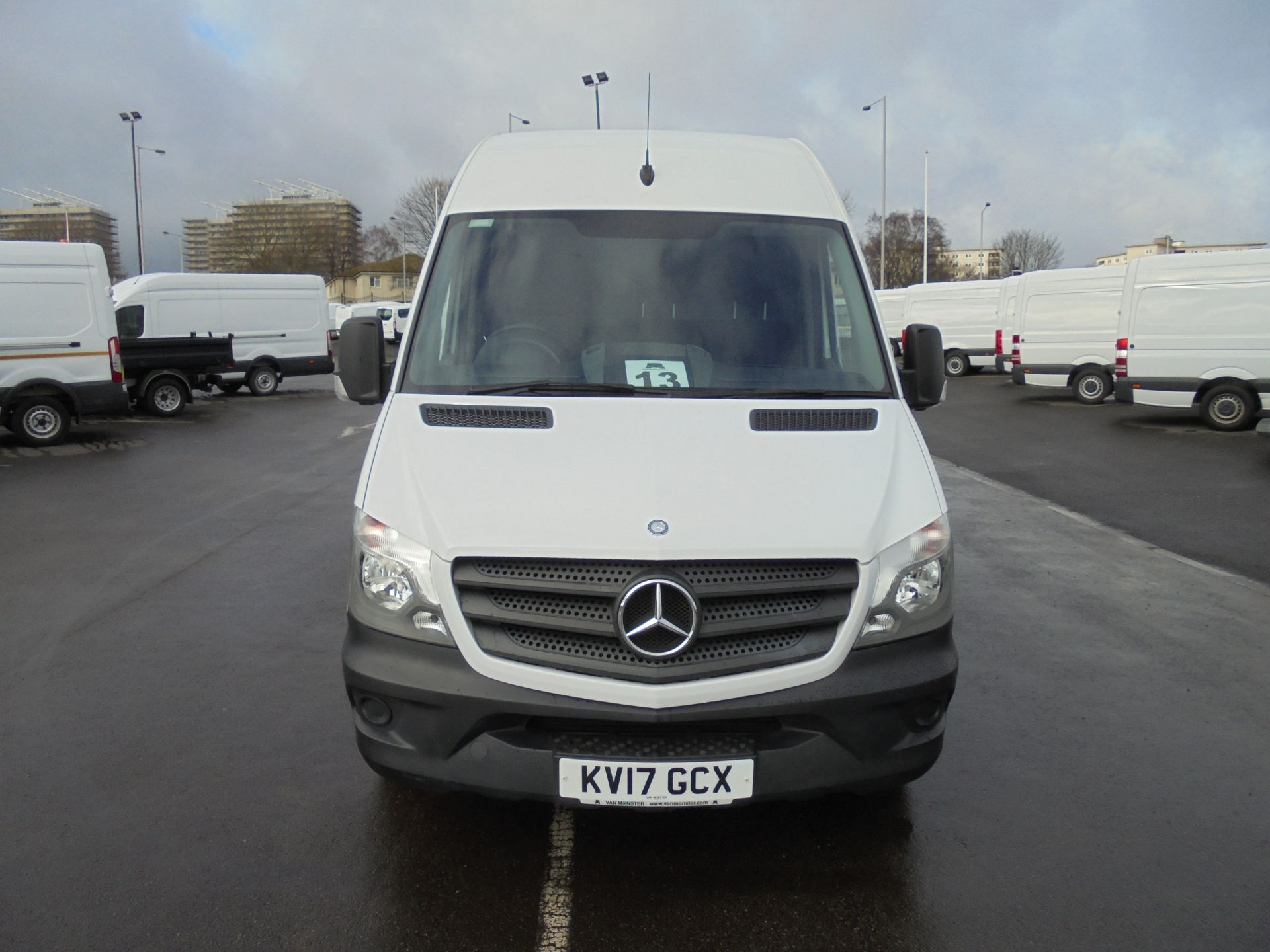 2017 Mercedes-Benz Sprinter 314 CDI 3.5T High Roof Van (KV17GCX) Image 2