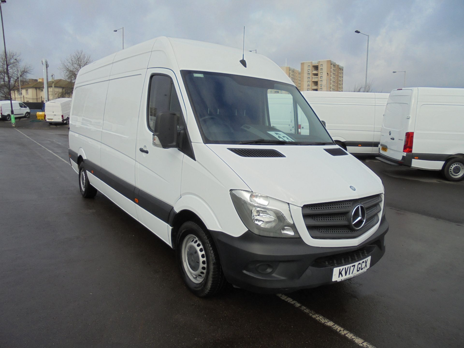 2017 Mercedes-Benz Sprinter 314 CDI 3.5T High Roof Van (KV17GCX) Image 1