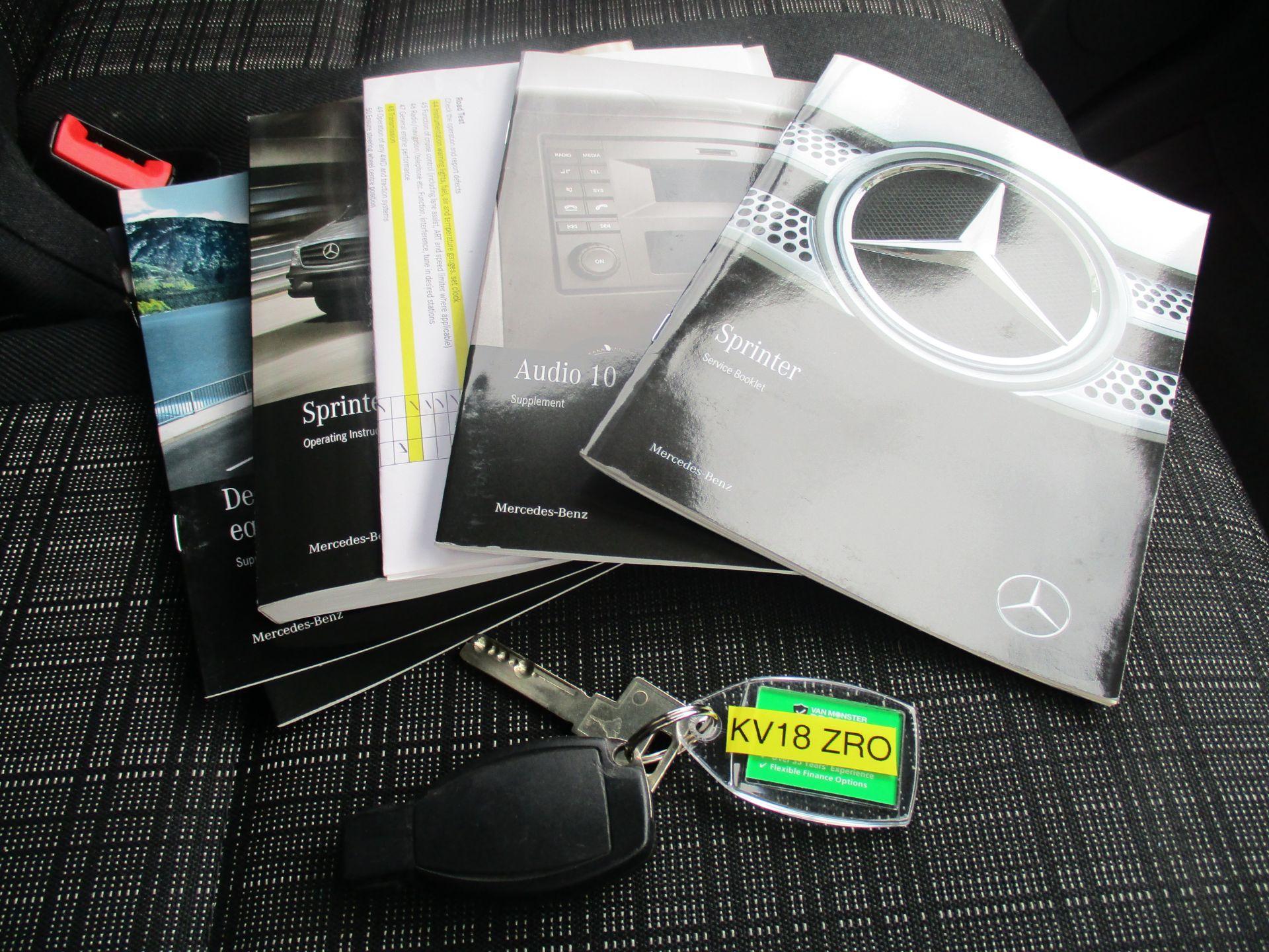 2018 Mercedes-Benz Sprinter 314 LWB H/R VAN EURO 6 (KV18ZRO) Image 13