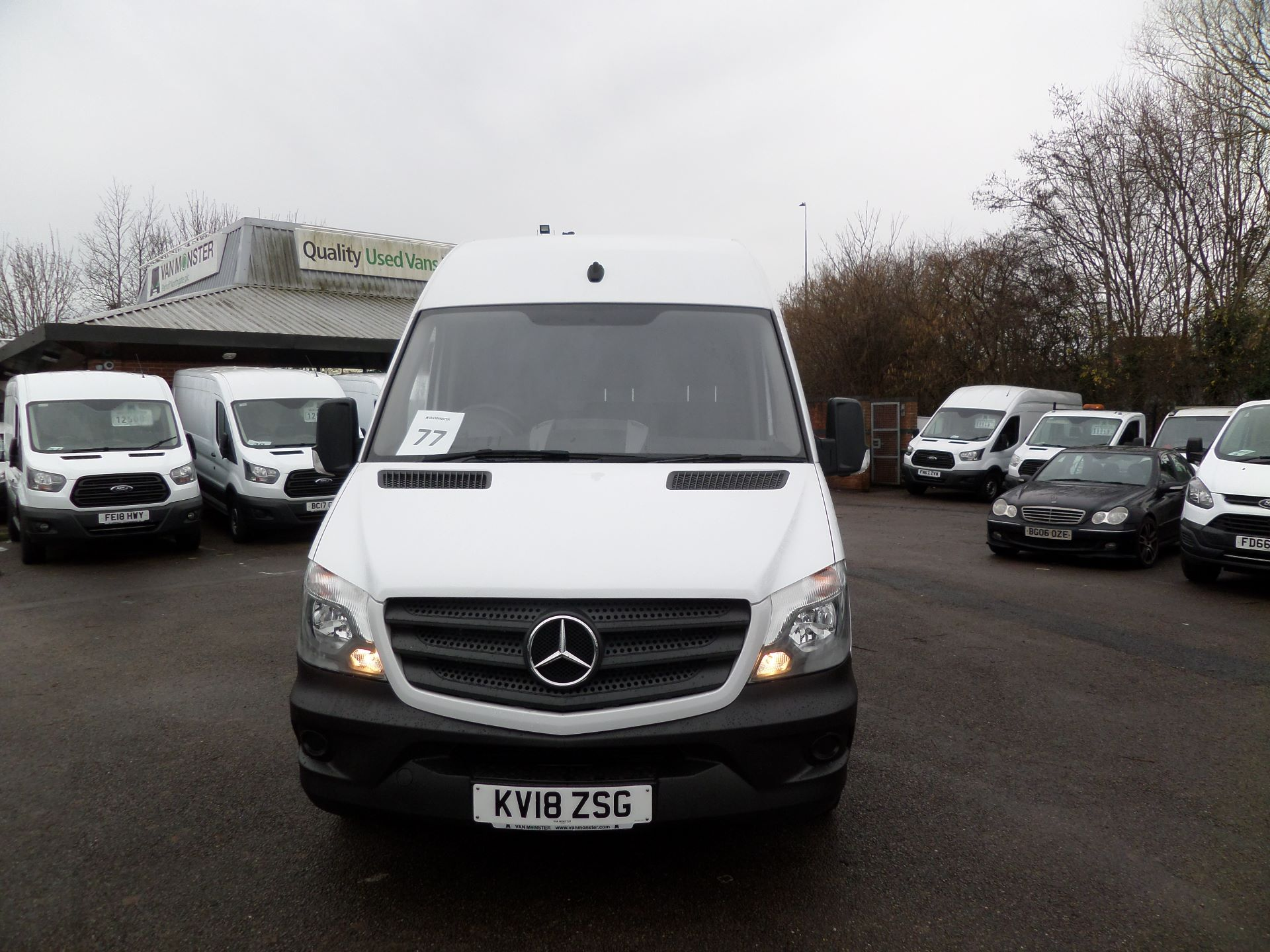 2018 Mercedes-Benz Sprinter 314 LWB Euro 6 (KV18ZSG) Image 10