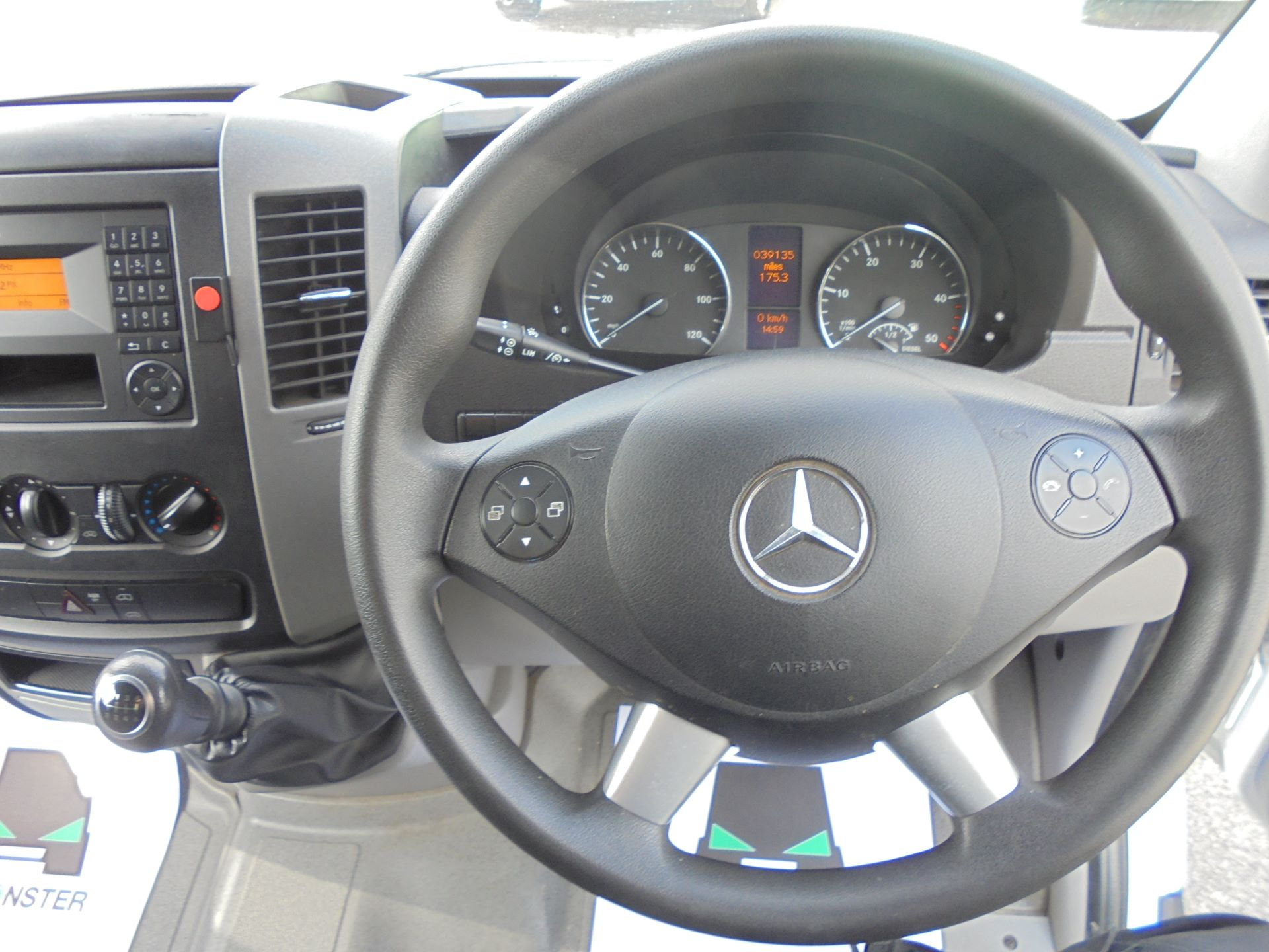 2018 Mercedes-Benz Sprinter  314 LWB H/R VAN EURO 6 (KV18ZYK) Image 13