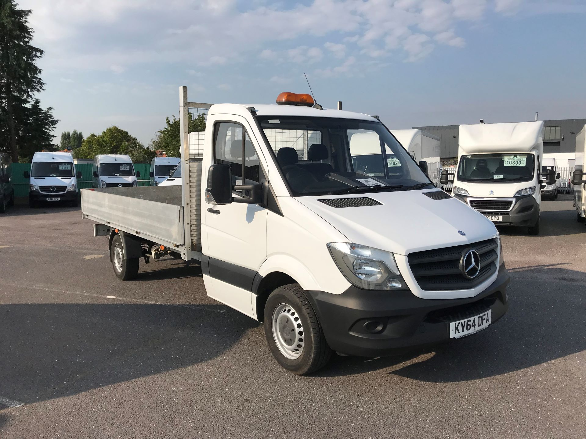 2014 Mercedes-Benz Sprinter   313 LWB DROP SIDE EURO 5 (KV64DFA)