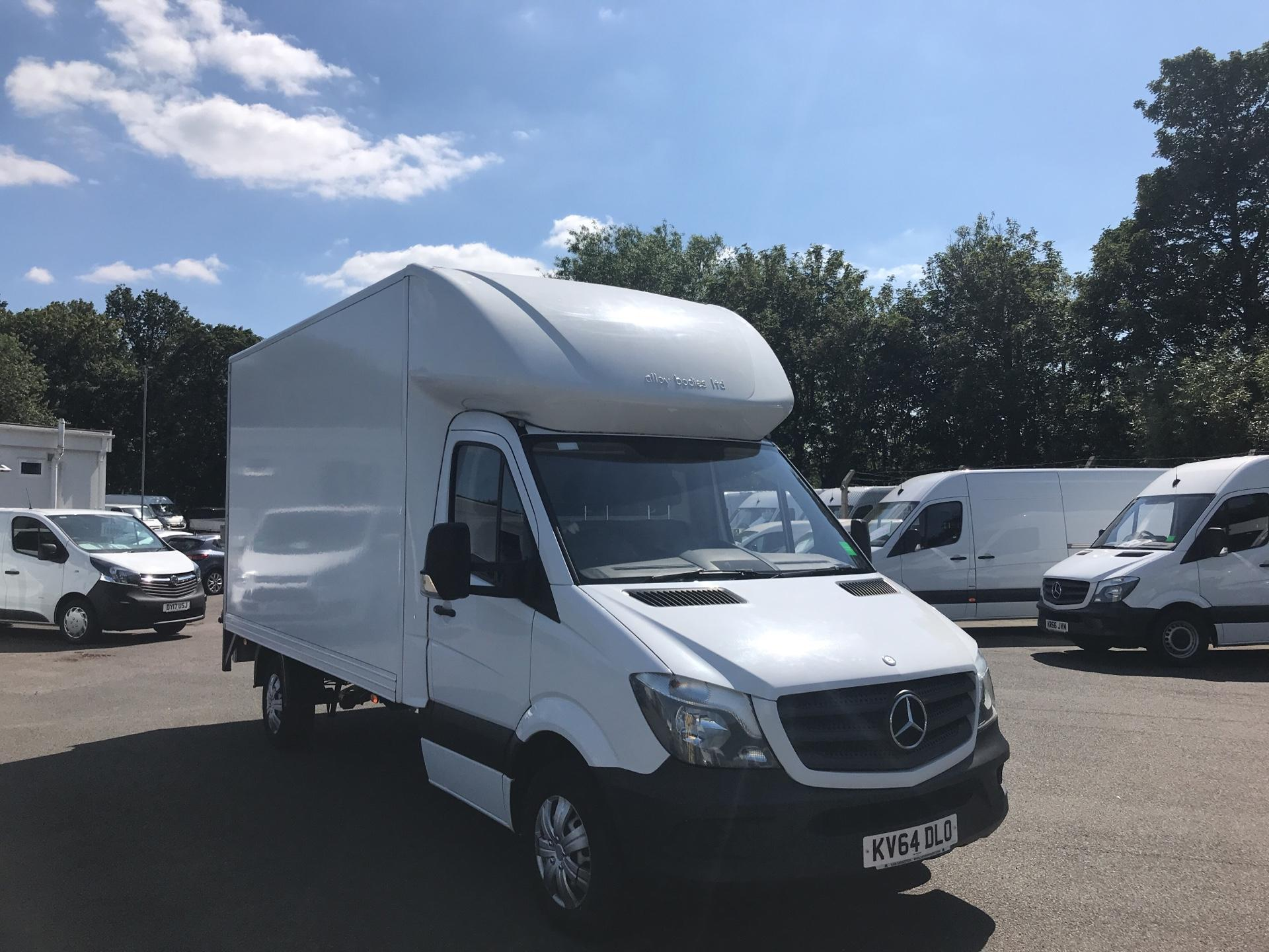 2014 Mercedes-Benz Sprinter 313 LWB LONG LUTON EURO 5 (KV64DLO)