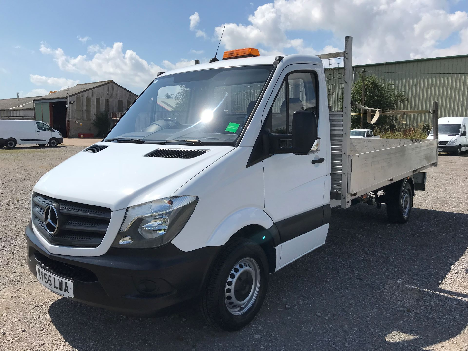 2016 Mercedes-Benz Sprinter 313 LWB DROP SIDE EURO 5 (KV65LWA) Image 3