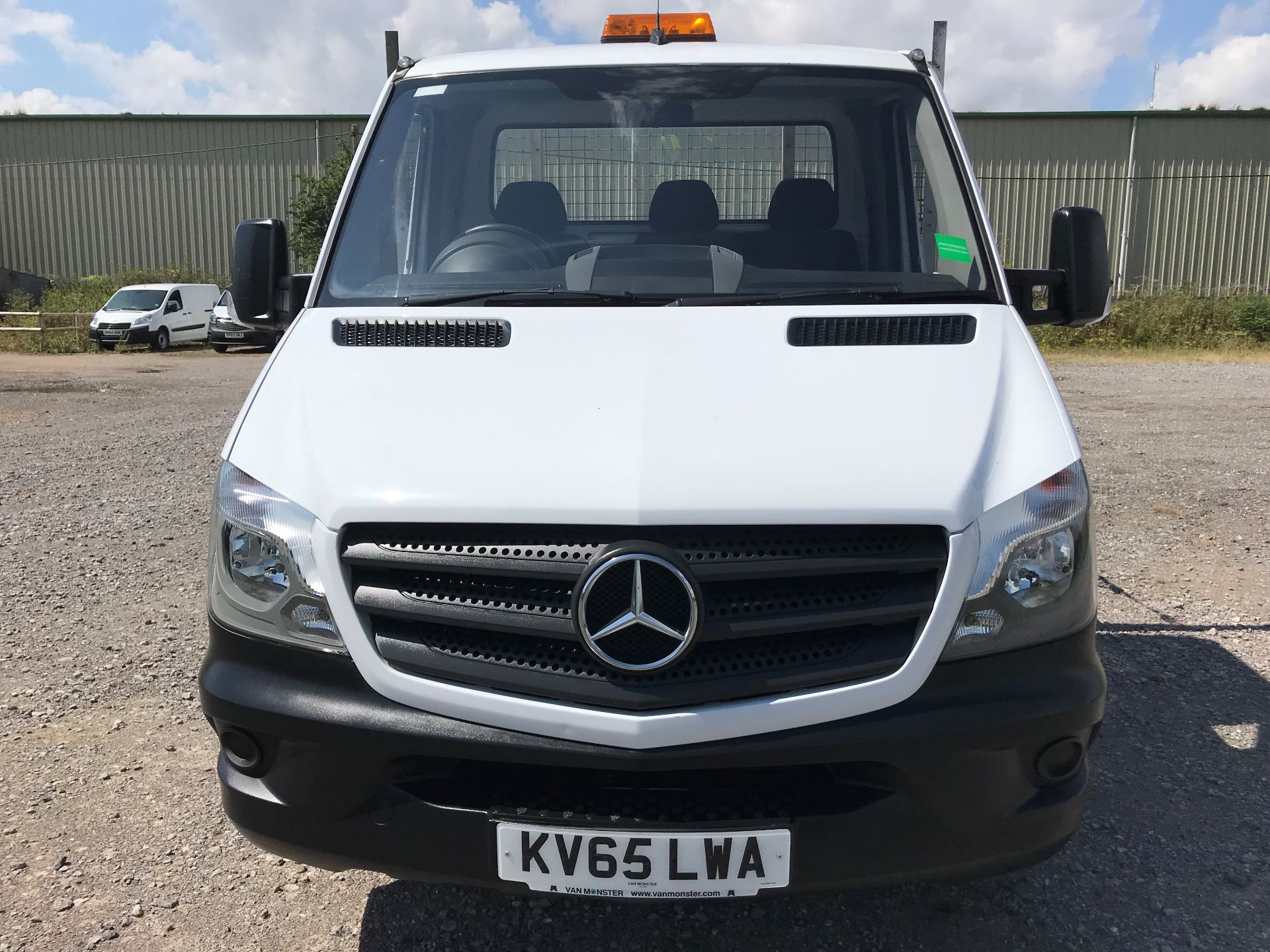 2016 Mercedes-Benz Sprinter 313 LWB DROP SIDE EURO 5 (KV65LWA) Image 2