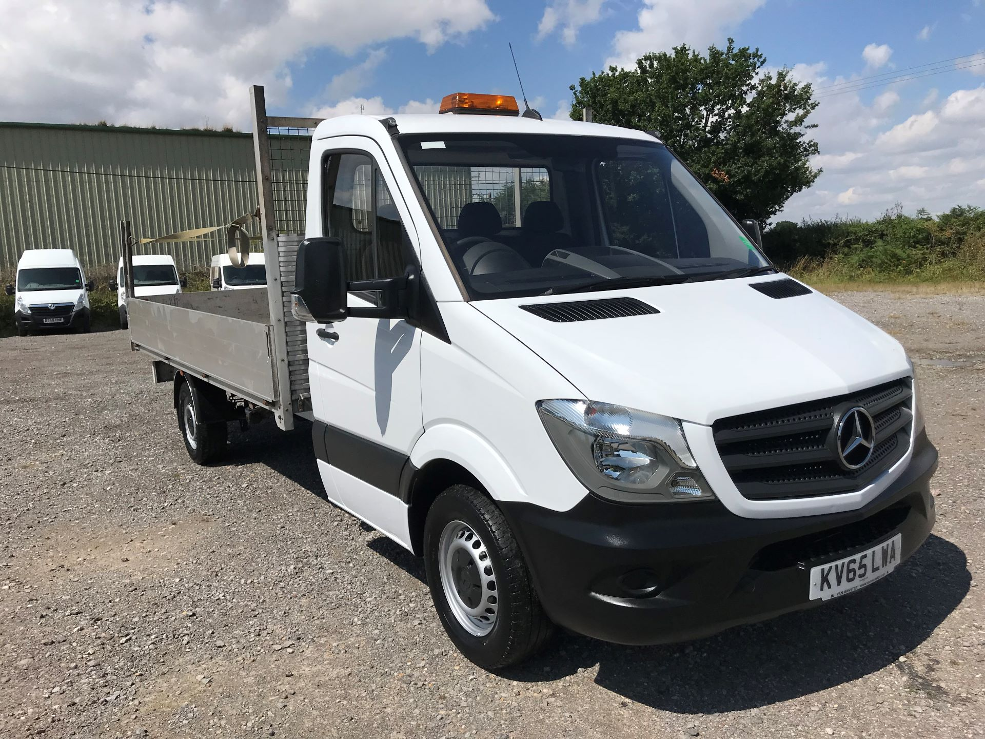 2016 Mercedes-Benz Sprinter 313 LWB DROP SIDE EURO 5 (KV65LWA) Thumbnail 1
