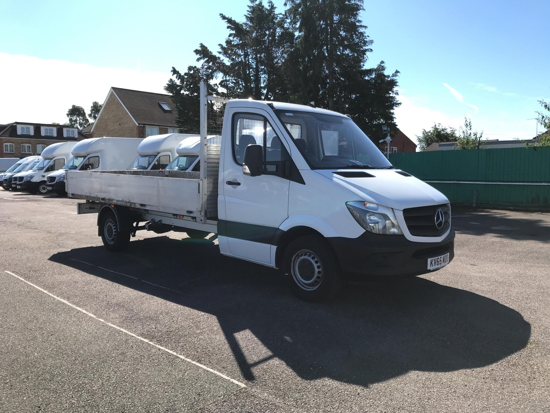 2016 Mercedes-Benz Sprinter   313 LWB DROPSIDE EURO 5 *VALUE RANGE VEHICLE CONDITION REFLECTED IN PRICE* (KV65MDO)