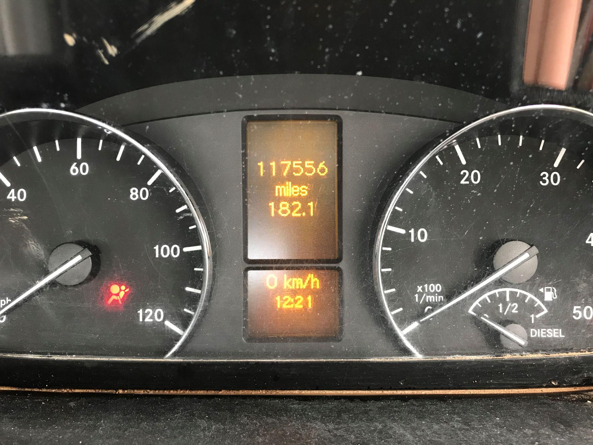 2016 Mercedes-Benz Sprinter  313 CDI LWB 3.5T DROP SIDE EURO 5 (KV65MOF) Image 5