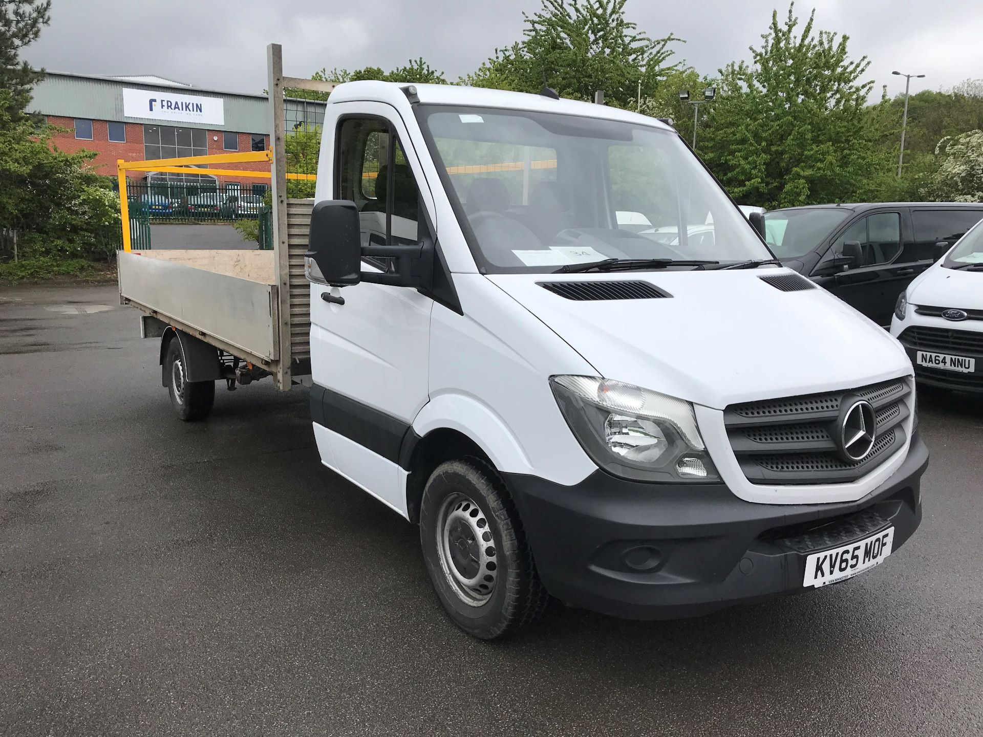 2016 Mercedes-Benz Sprinter  313 CDI LWB 3.5T DROP SIDE EURO 5 (KV65MOF)