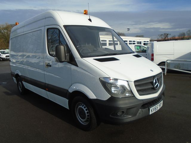 2015 Mercedes-Benz Sprinter 313 CDI MWB 3.5t High Roof Van (KV65YRY)