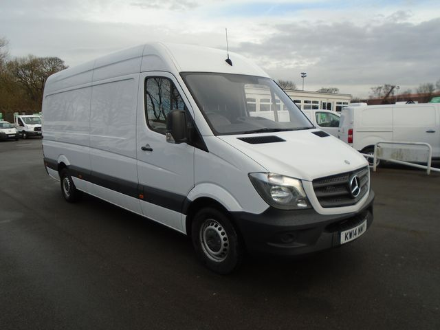 2014 Mercedes-Benz Sprinter 313 CDI LWB 3.5t High Roof Van (KW14NMY)