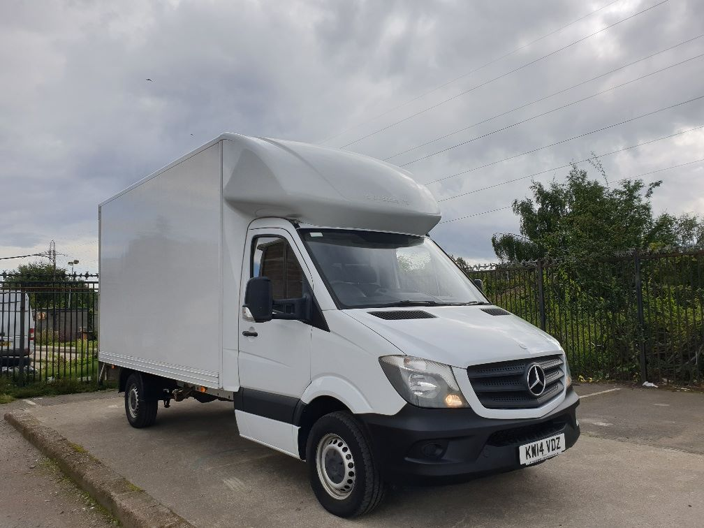2014 Mercedes-Benz Sprinter 313 LWB LONG LUTON EURO 5 (KW14VDZ)