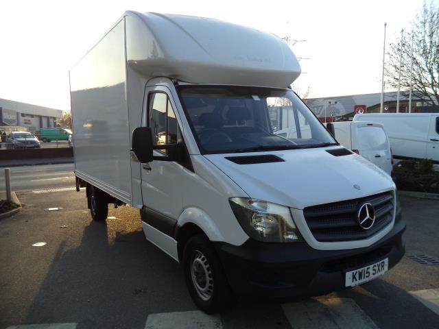 2015 Mercedes-Benz Sprinter LWB 313 CDi Luton With Tail Lift Euro 5 (KW15SXR)