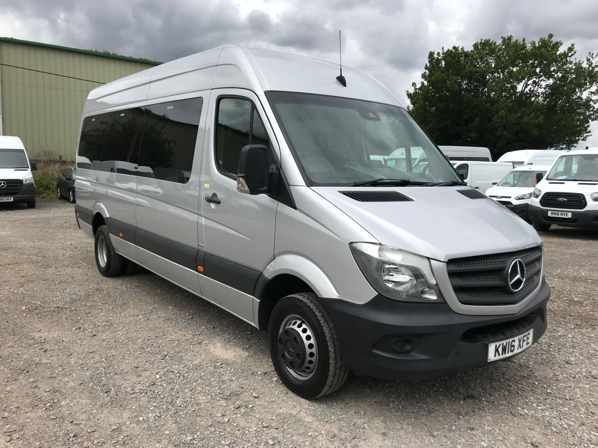 2016 Mercedes-Benz Sprinter 516Cdi Bluetec Blueeff Tl17 17-Seater High Roof (KW16XFE)