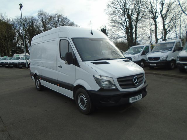 2016 Mercedes-Benz Sprinter 313 CDI MWB 3.5t High Roof Van (KW16XFT)
