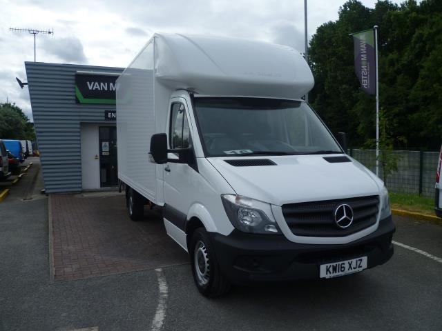 2016 Mercedes-Benz Sprinter 313 LWB LONG LUTON EURO 5 (KW16XJZ)