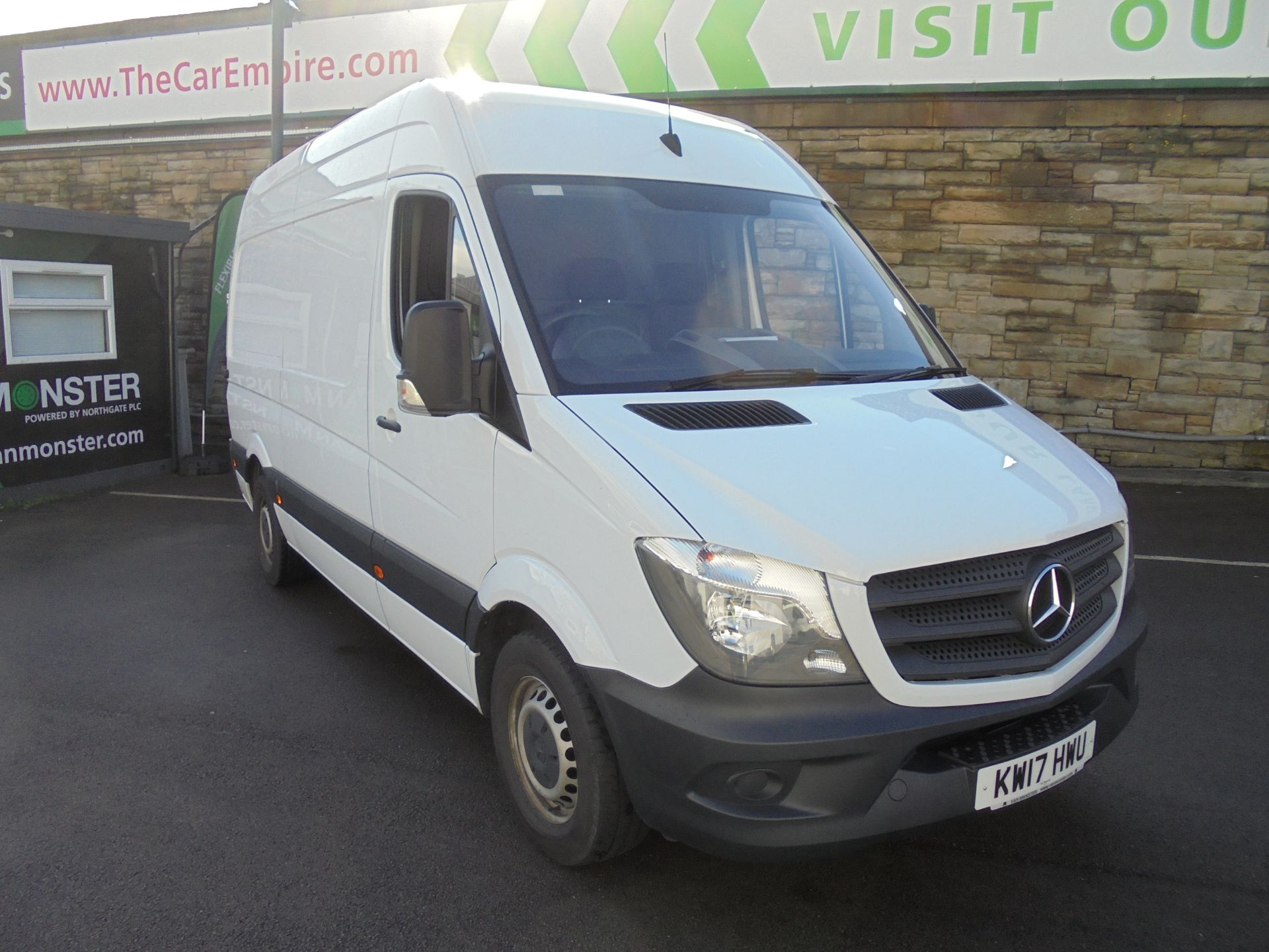 2017 Mercedes-Benz Sprinter 3.5T High Roof Van MWB (KW17HWU)