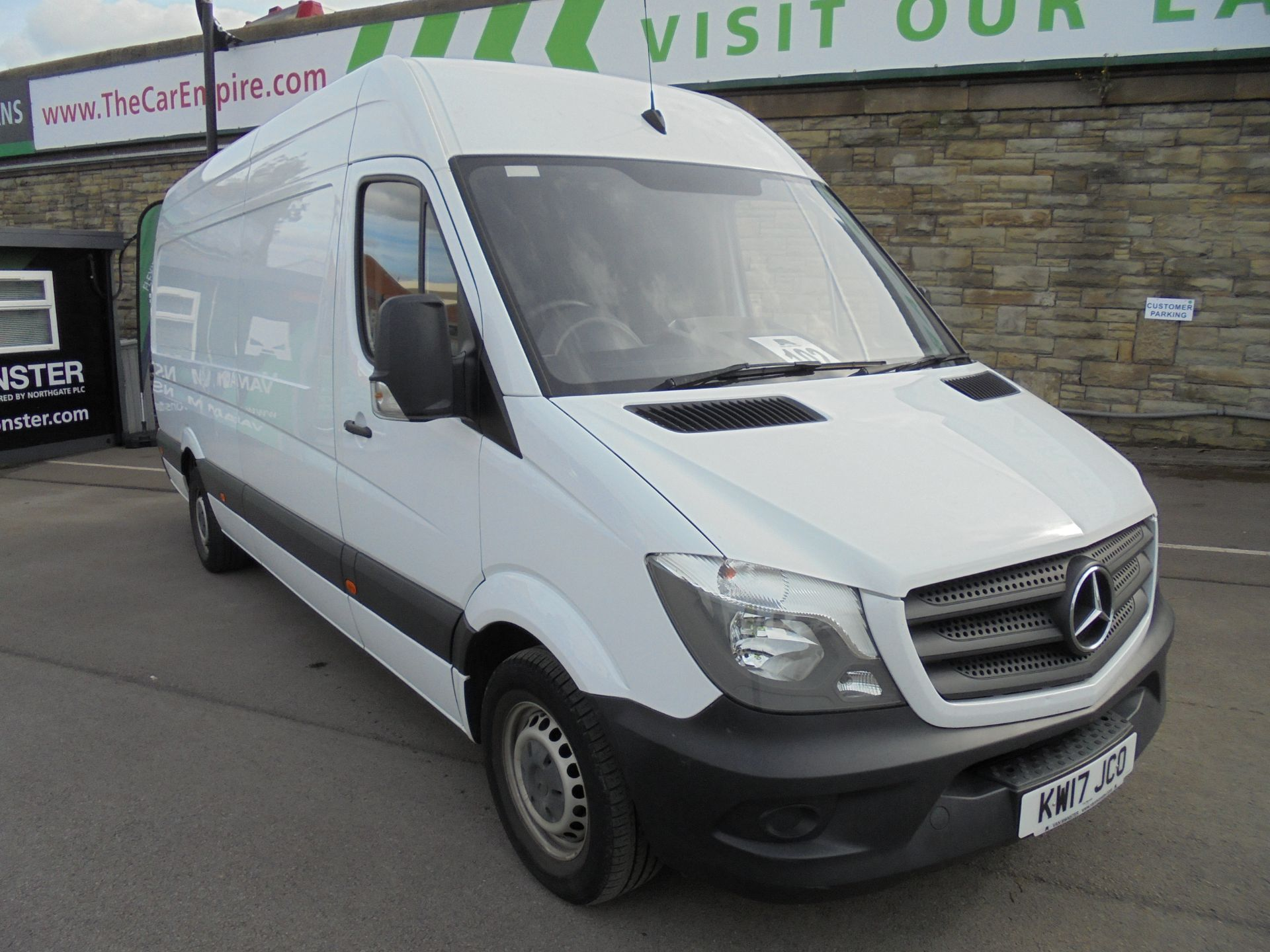 2017 Mercedes-Benz Sprinter 3.5T High Roof Van LWB (KW17JCO) Thumbnail 1
