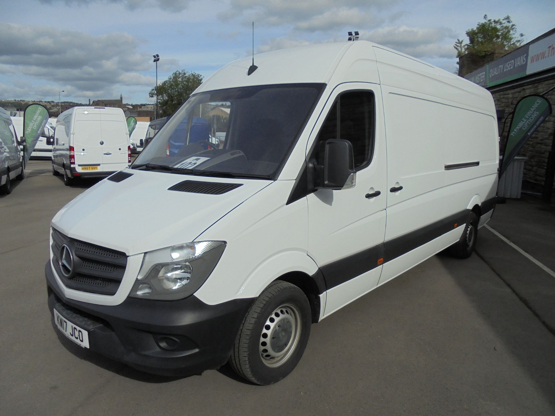 2017 Mercedes-Benz Sprinter 3.5T High Roof Van LWB (KW17JCO) Thumbnail 3