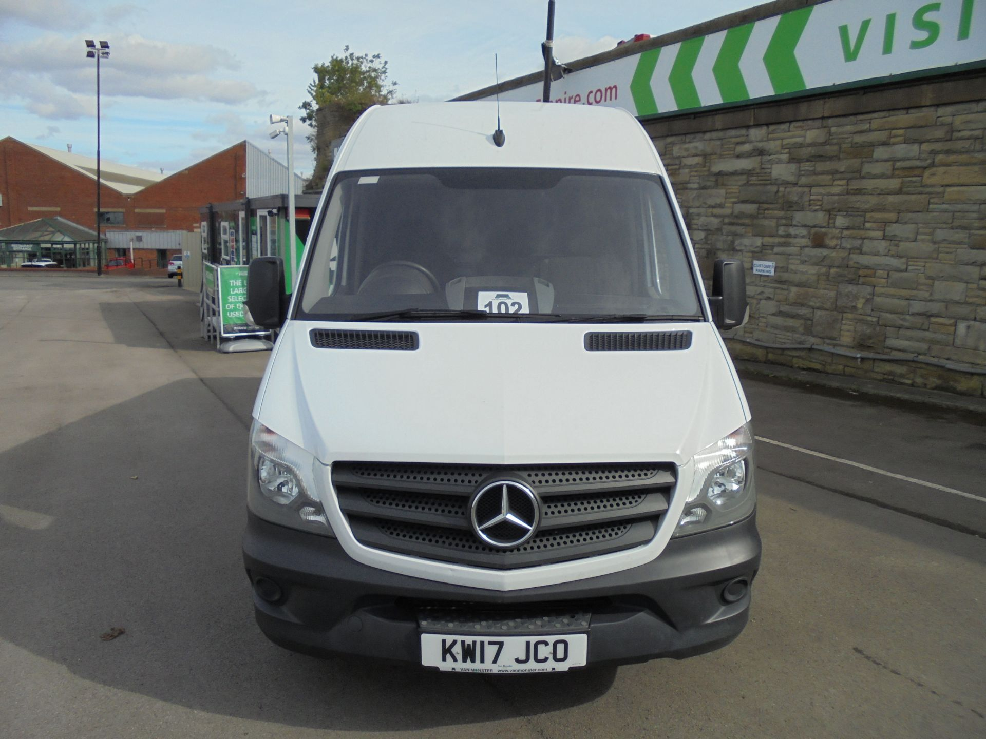 2017 Mercedes-Benz Sprinter 3.5T High Roof Van LWB (KW17JCO) Image 2