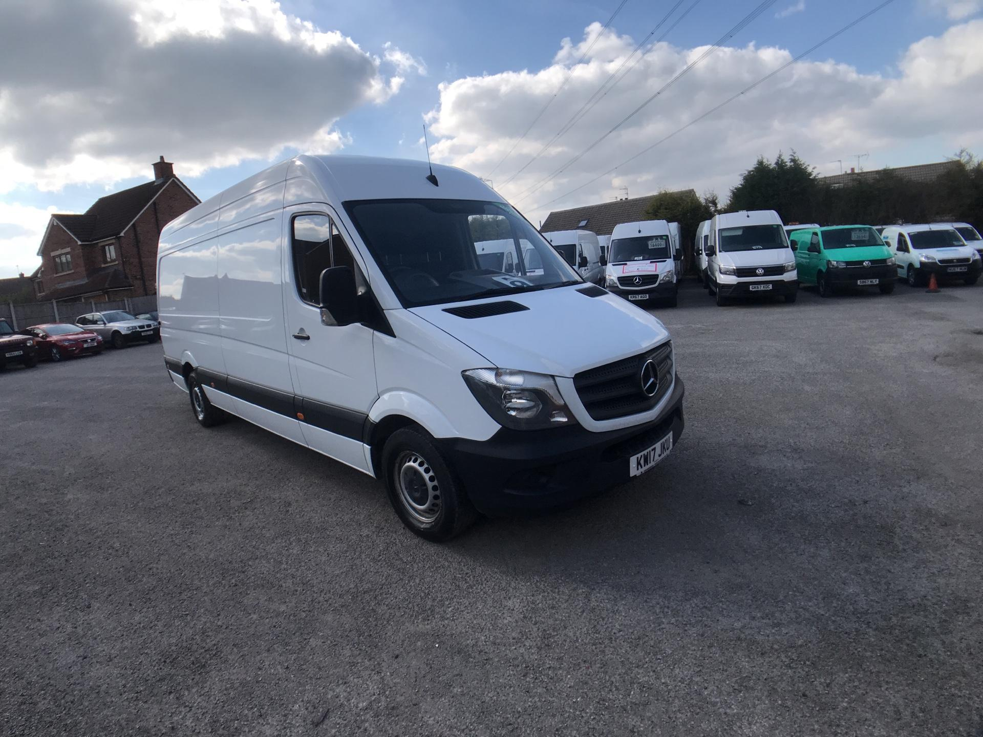 2017 Mercedes-Benz Sprinter 3.5T High Roof Van Euro 6 (KW17JKU)
