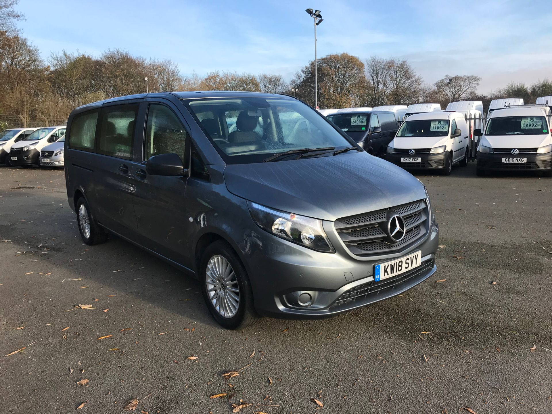 2018 Mercedes-Benz Vito 119 BLUETECH TOURER SELECT A 8 SEATER 190PS (KW18SVY)