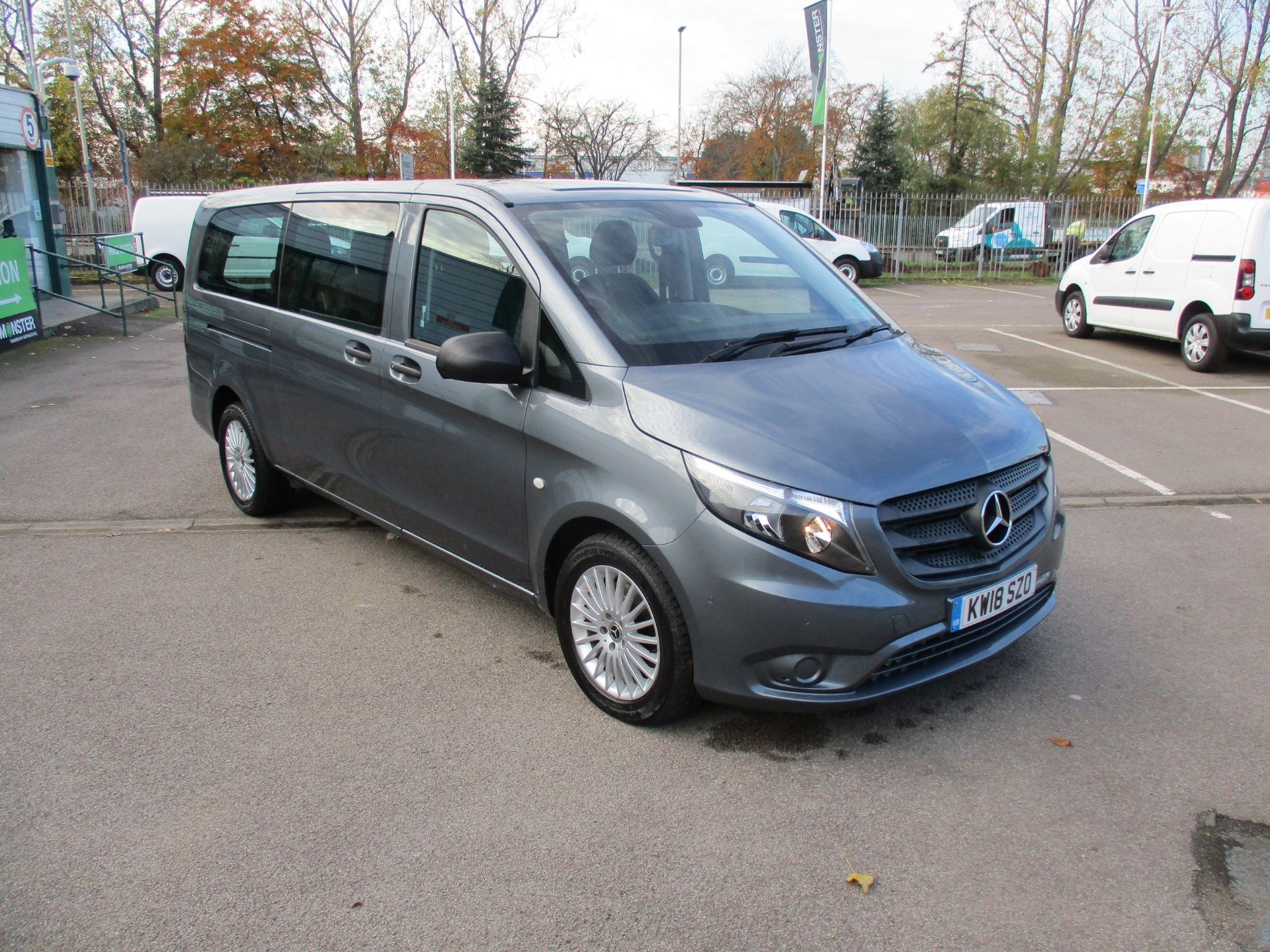 2018 Mercedes-Benz Vito 119 Bluetec Tourer Select (KW18SZO)
