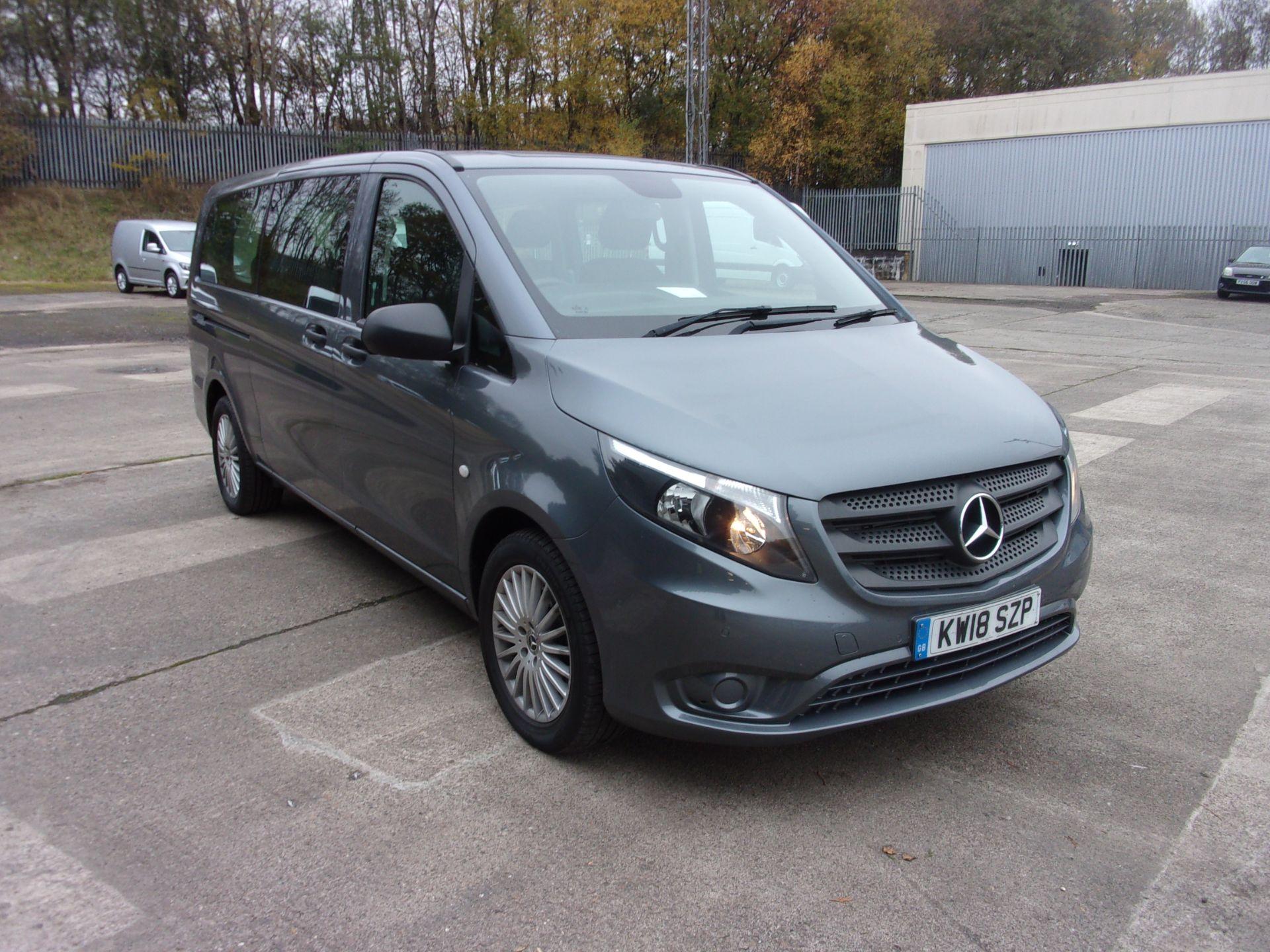 2018 Mercedes-Benz Vito 119 CDI BLUETEC TOURER SELECT AUTO 8 SEAT EURO 6 (KW18SZP)