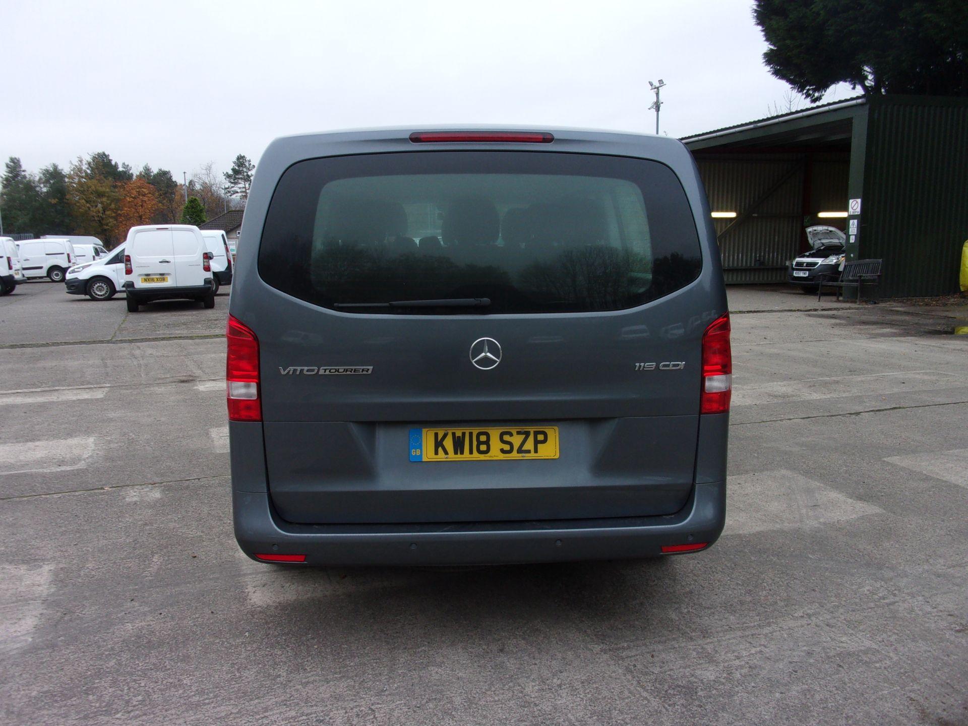 2018 Mercedes-Benz Vito 119 CDI BLUETEC TOURER SELECT AUTO 8 SEAT EURO 6 (KW18SZP) Image 12