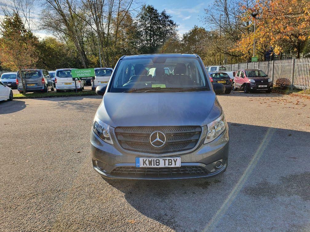 2018 Mercedes-Benz Vito 119 Bluetec Tourer Select (KW18TBY) Image 2