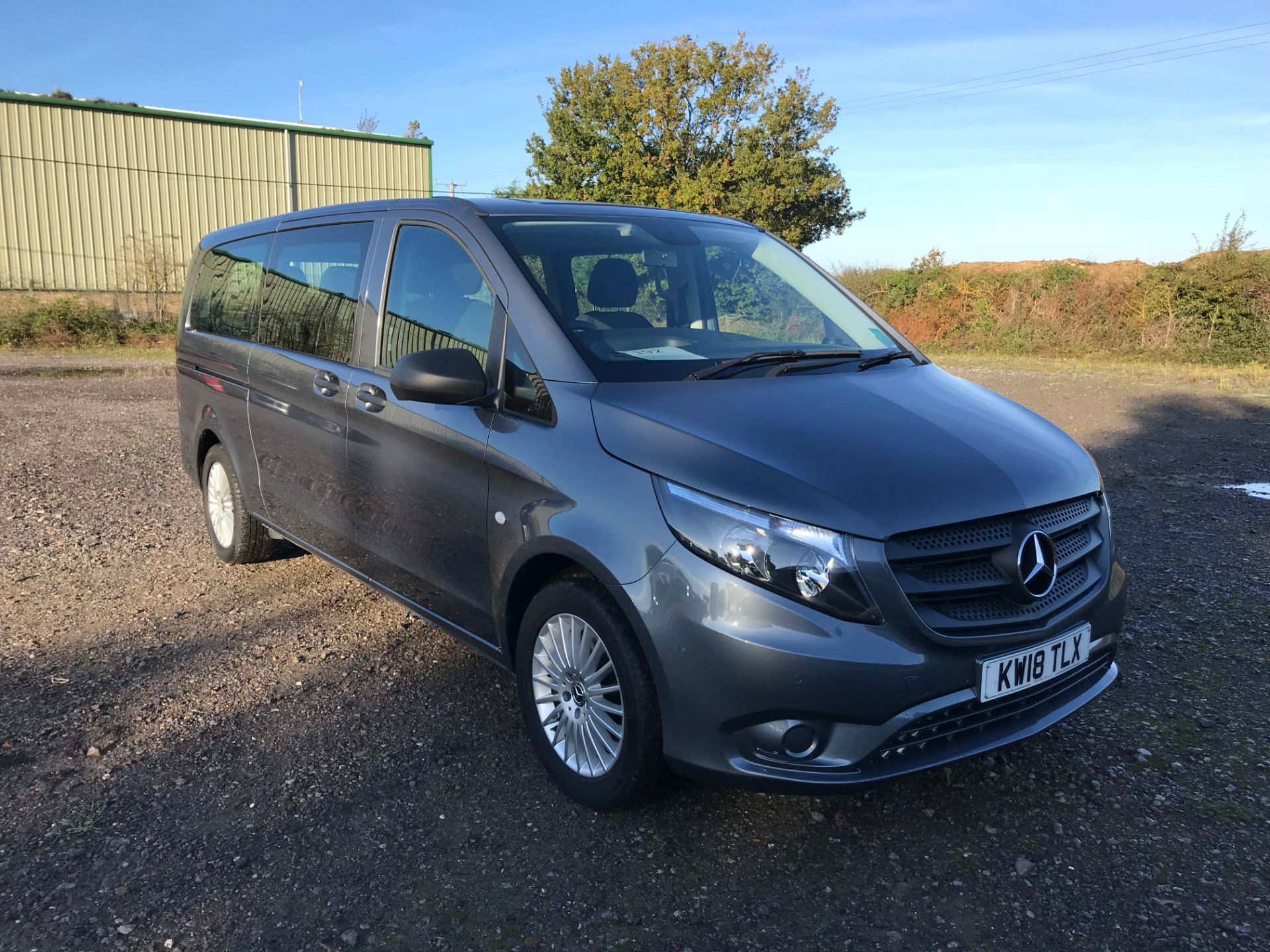 2018 Mercedes-Benz Vito 119 Bluetec Tourer Select (KW18TLX)