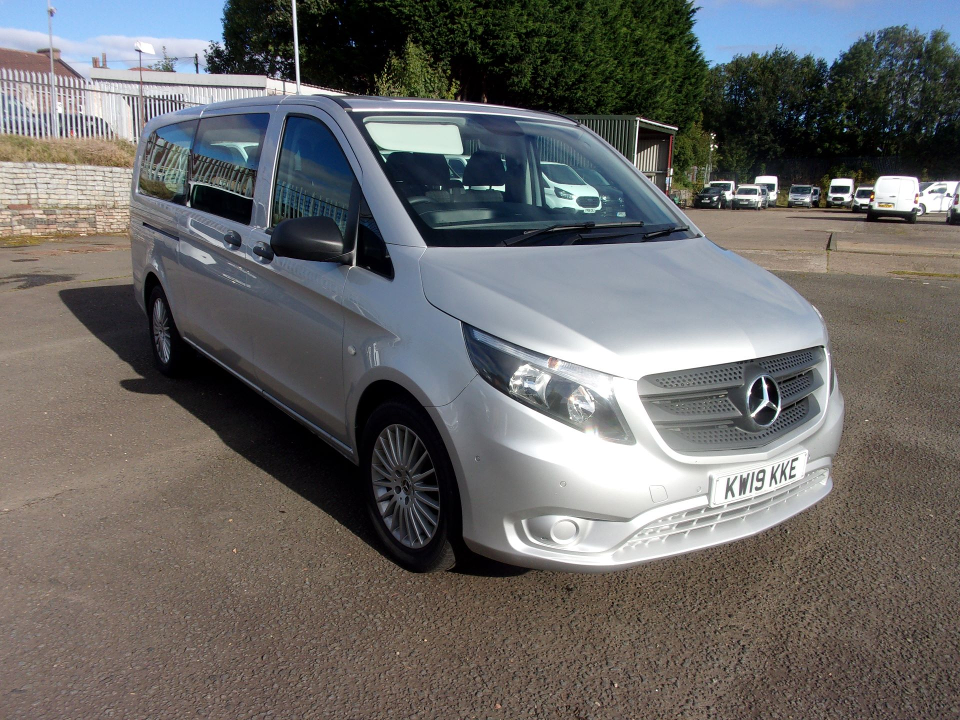 2019 Mercedes-Benz Vito 119 CDI TOURER SELECT 9 SEATER 7G-TRONIC (KW19KKE)
