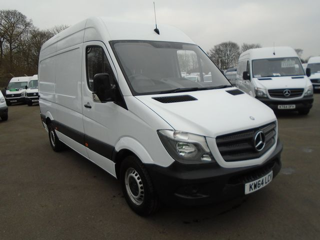 2015 Mercedes-Benz Sprinter 313 CDI MWB 3.5t High Roof Van (KW64LCV)